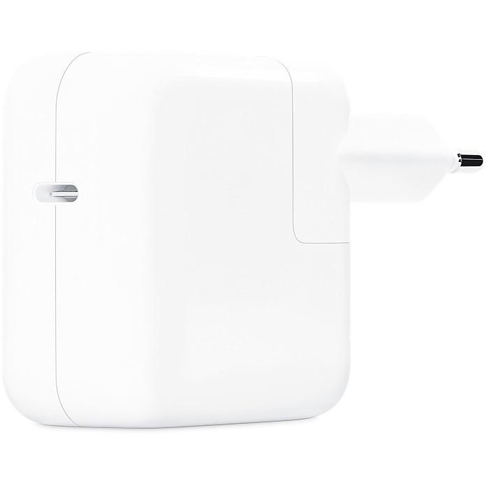 Fotografie Incarcator Apple USB-C Power Adapter - 30W, Fast Charge, Alb
