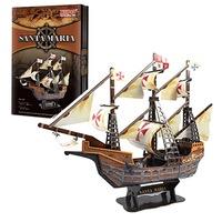 Пъзел 3D Испански кораб Santa Maria, 102 части
