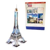 Пъзел 3D Световна забележителност Eiffel Tower, 112 части