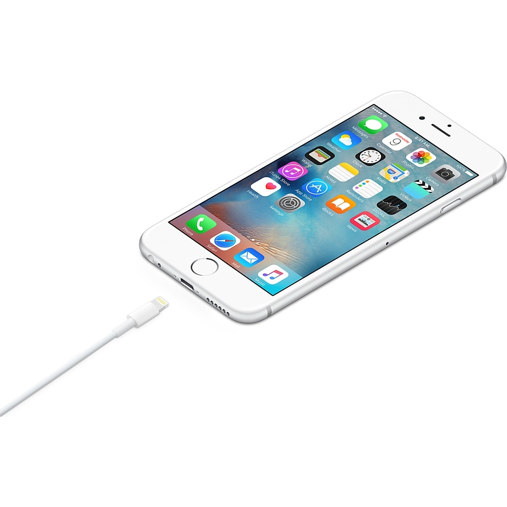 Apple Lightning USB gyári adatkábel, 0.5 m oanFVM