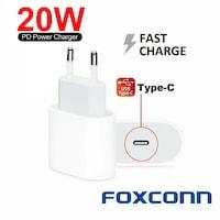 Foxconn gyorstöltő 20W iPhone 12/12pro/12promax / 12mini készülékhez,ömlesztett