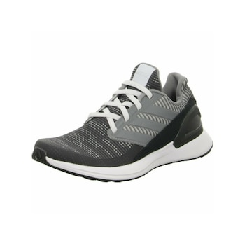 Adidas 823084 Rapidarun Knit El C Adidas gyerek training cipő szürke/fekete 28-as méretű
