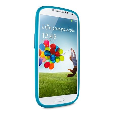 Протектор Belkin F8M551btC02 за Galaxy S4, Син