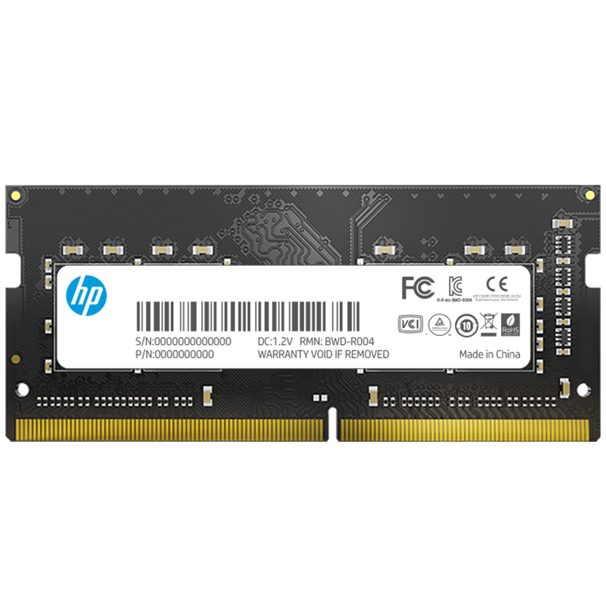 Fotografie Memorie Laptop HP S1 Series, 4GB DDR4, 2666MHz CL19