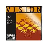 """Thomastik Vision Szintetikus Hegedűhúr Szett """"D Silver"""""""