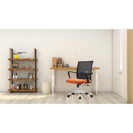 Scaun de birou ergonomic Kring Ivy, mesh, Negru