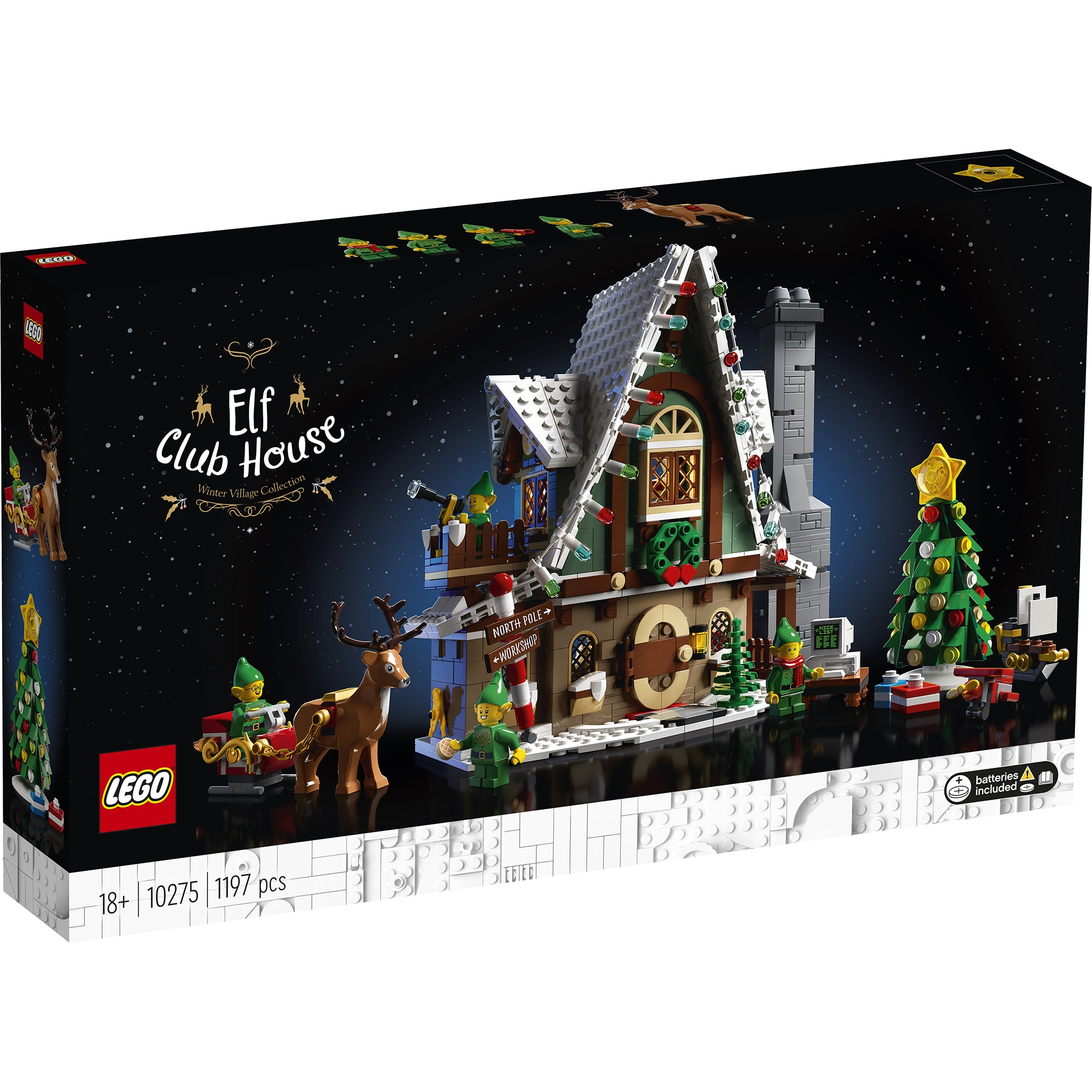 Fotografie LEGO Creator Expert - Elf Club House 10275, 1197 piese