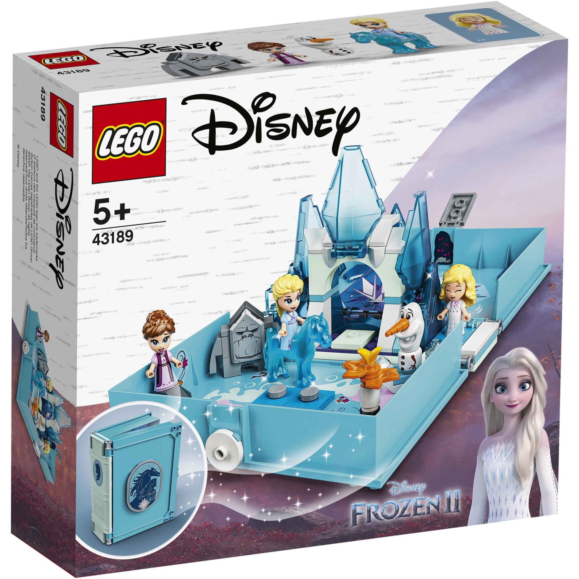 Fotografie LEGO Disney Princess - Aventuri din cartea de povesti cu Elsa si Nokk 43189, 125 piese