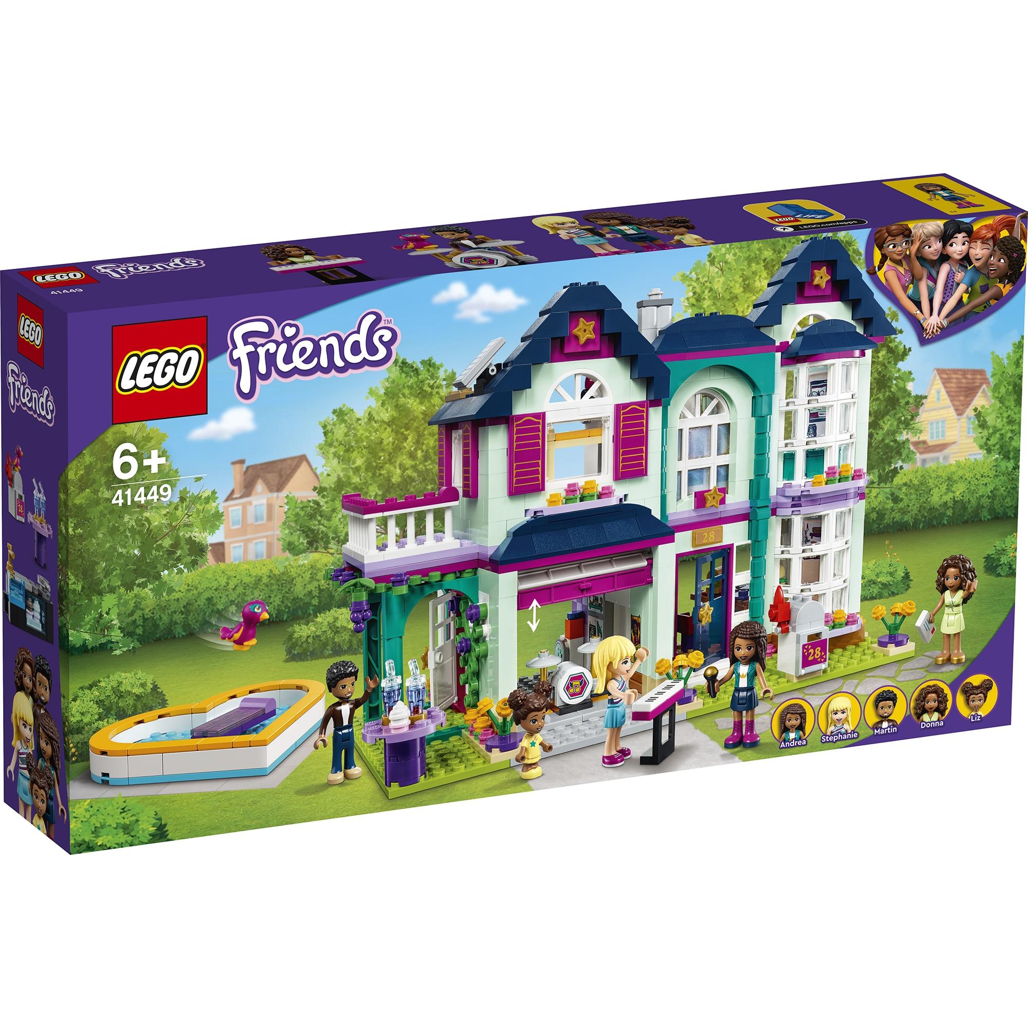 Fotografie LEGO Friends - Casa familiei Andreei 41449, 802 piese