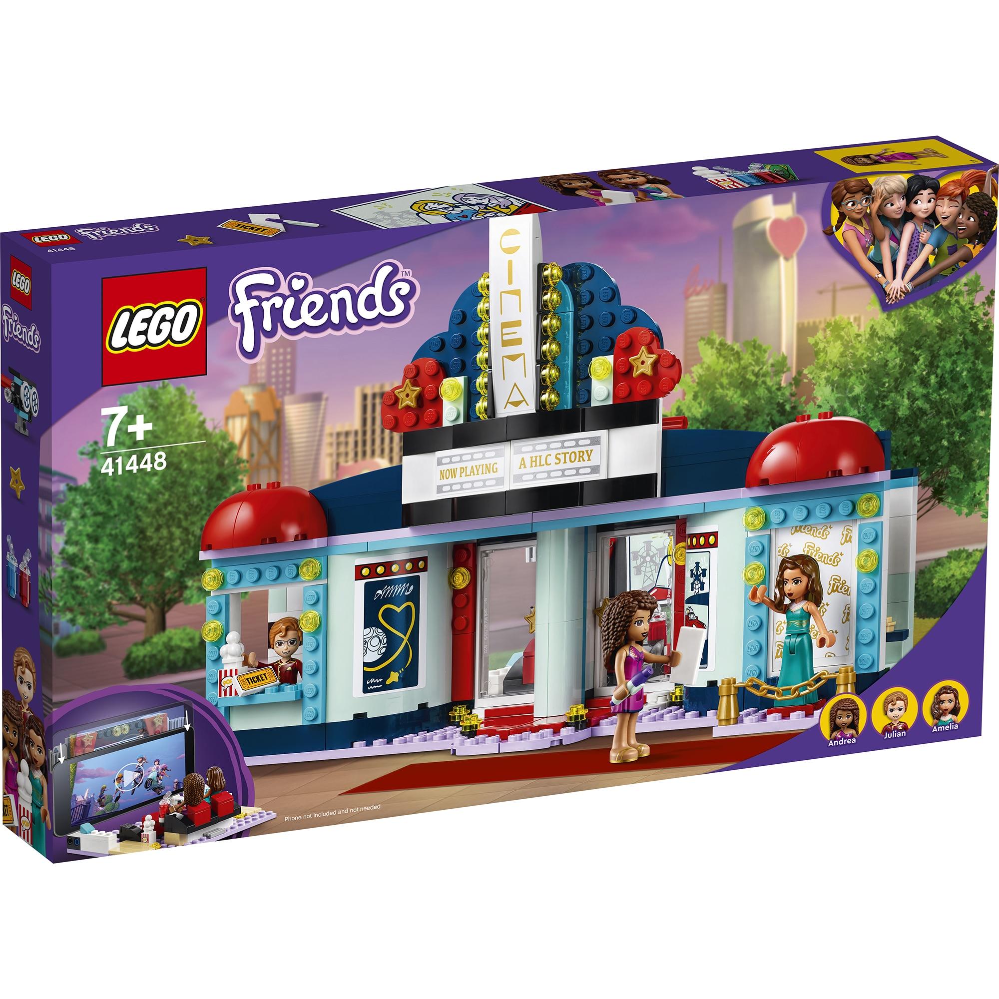 Fotografie LEGO Friends - Cinematograful din Heartlake City 41448, 451 piese