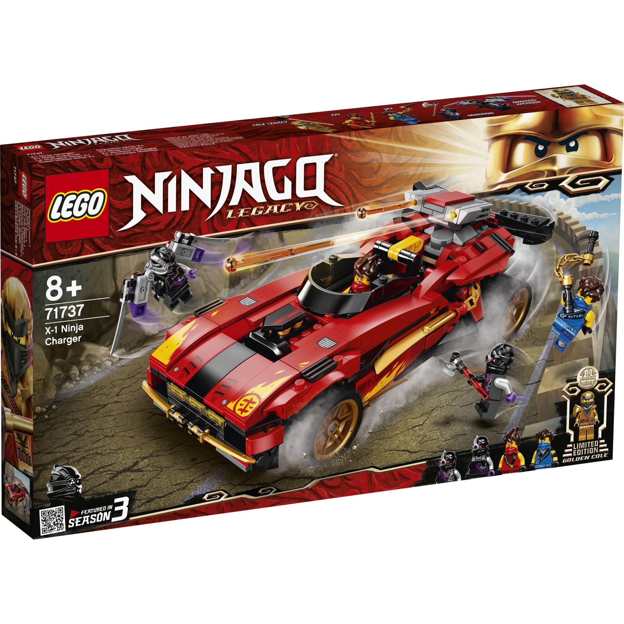 Fotografie LEGO NINJAGO - Incarcator Ninja X 1 71737, 599 piese