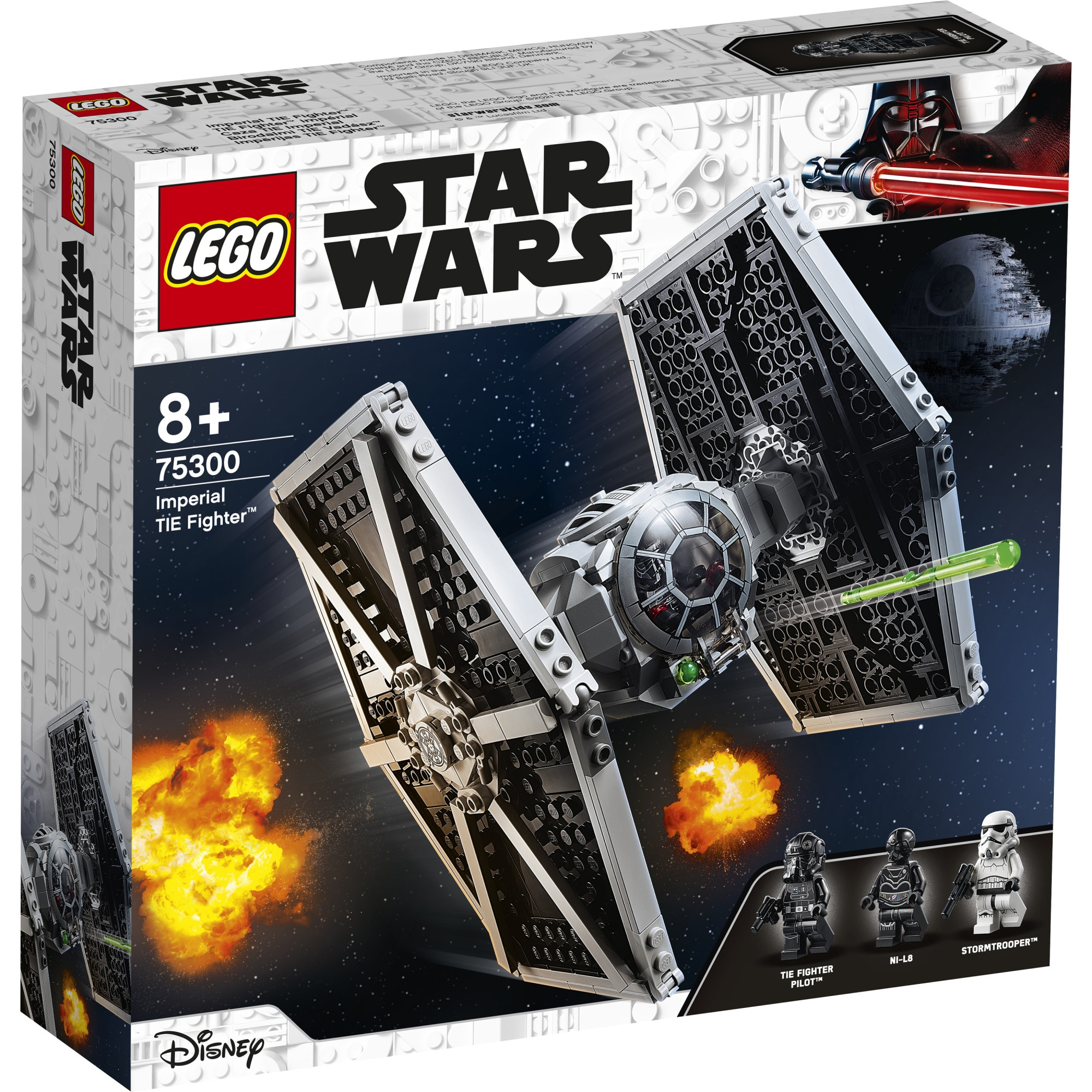 Fotografie LEGO Star Wars - Imperial TIE Fighter 75300, 432 piese
