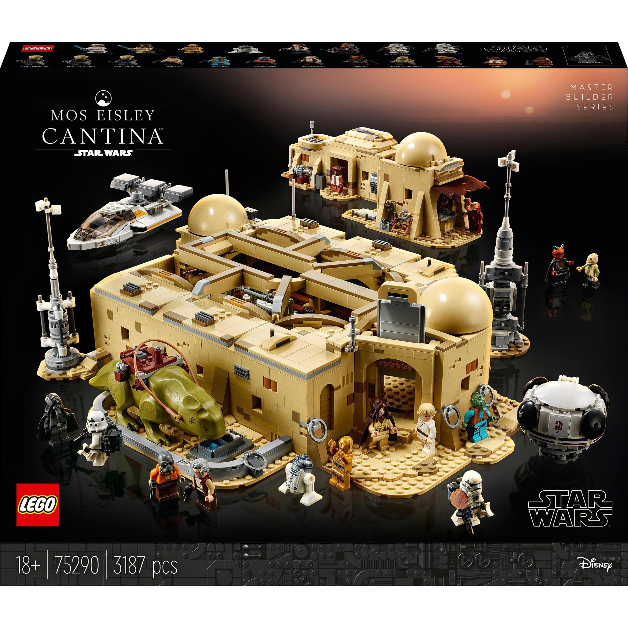 Fotografie LEGO Star Wars - Mos Eisley Cantina 75290, 3187 piese