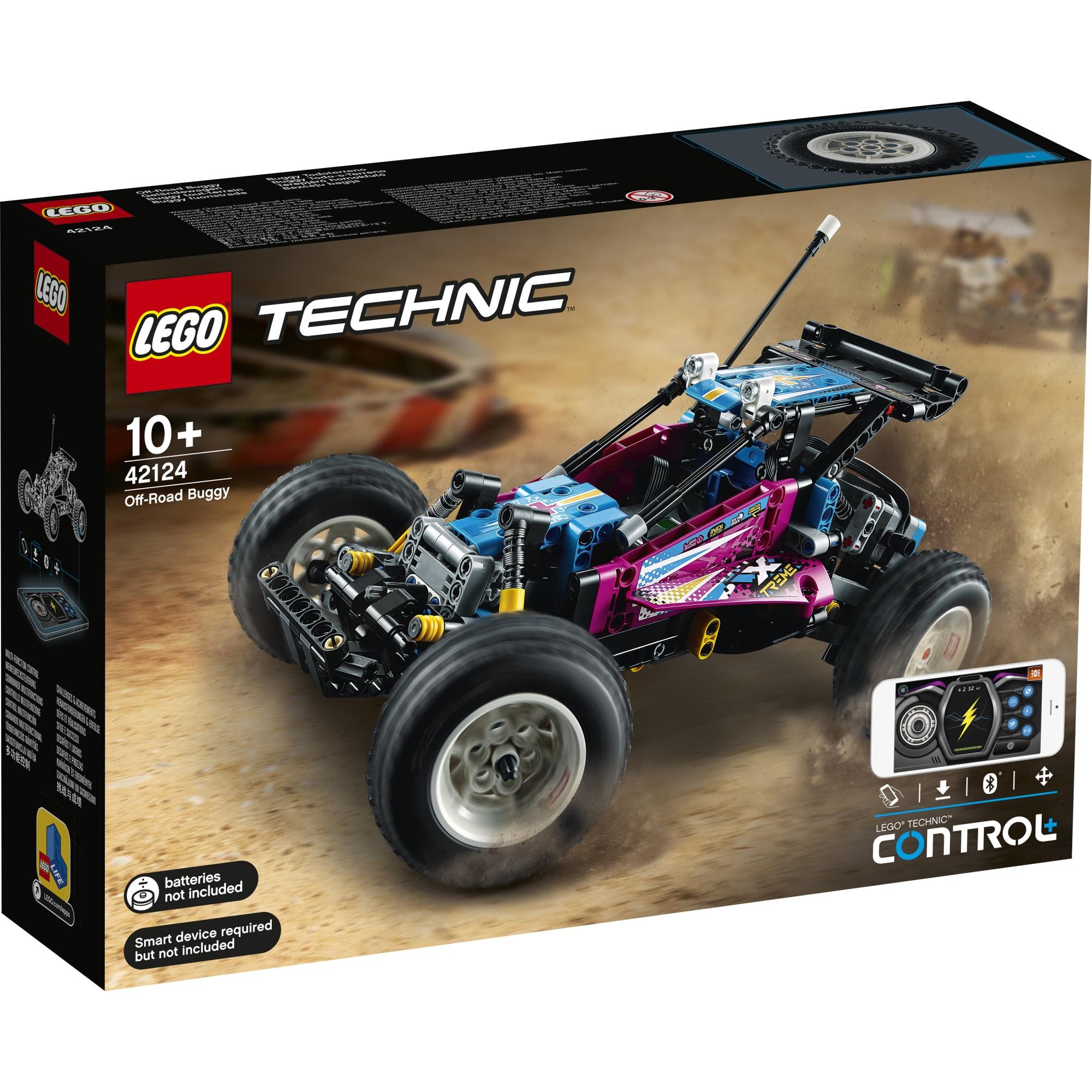 Fotografie LEGO Technic - Vehicul de teren 42124, 374 piese
