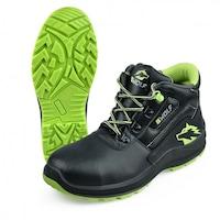 Защитни работни обувки B-wolf SPYKE Hi S3,Черен/зелен,37