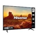 "Телевизор - Hisense 43"" A7100F, 4K Ultra HD 3840x2160, DLED, HDR 10, HLG, Dolby Audio, DTS, Smart TV, WiFi, WiFi Direct, BT, 3xHDMI, 2xUSB, LAN, CI+, DVB-T2/C/S2, Black"