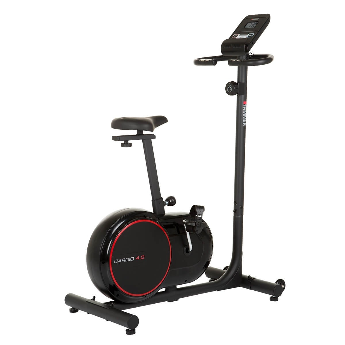 Fotografie Bicicleta fitness Hammer Cardio 4.0, volant 6kg, greutate maxima utilizator 110 kg