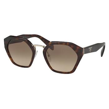 Дамски слънчеви очила PRADA 04TS 2AU3D0, Хавана/Кафяв преливащ, UV 400