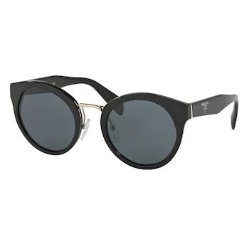 Дамски слънчеви очила PRADA 05TS 1AB1A1, Черен/Сив, UV 400