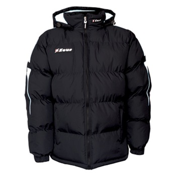 Zeus Giubbotto Rangers kabát, Fekete/Fehér, M-es