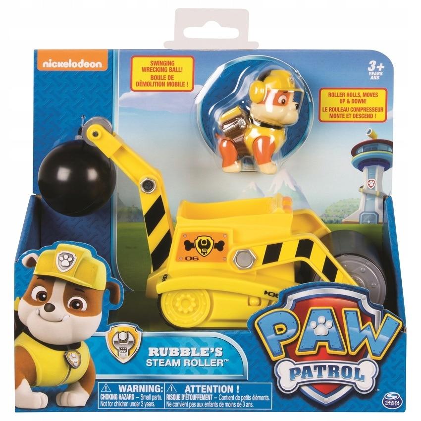 Fotografie Set figurina cu vehicul Paw Patrol - Buldozer, Rubble