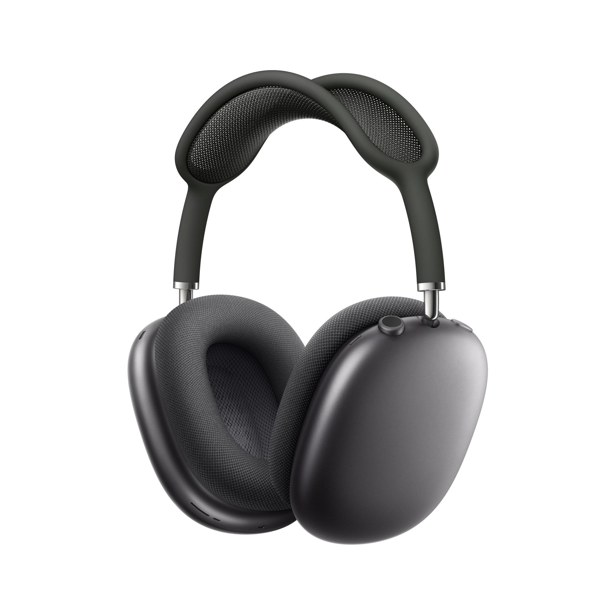 Fotografie Casti Audio Over the Ear Apple AirPods Max, Wireless, Bluetooth, Noise cancelling, Microfon, Autonomie 20 ore, Space Gray