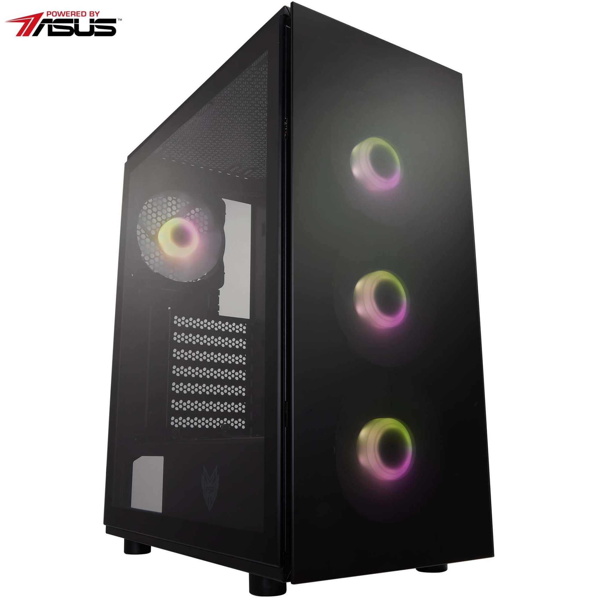 Fotografie Sistem Desktop PC Gaming Serioux Powered by ASUS cu procesor AMD Ryzen™ 5 3500X pana la 4.10GHz, 16GB DDR4, 500GB SSD, Radeon™ RX 5500 XT 4GB GDDR6