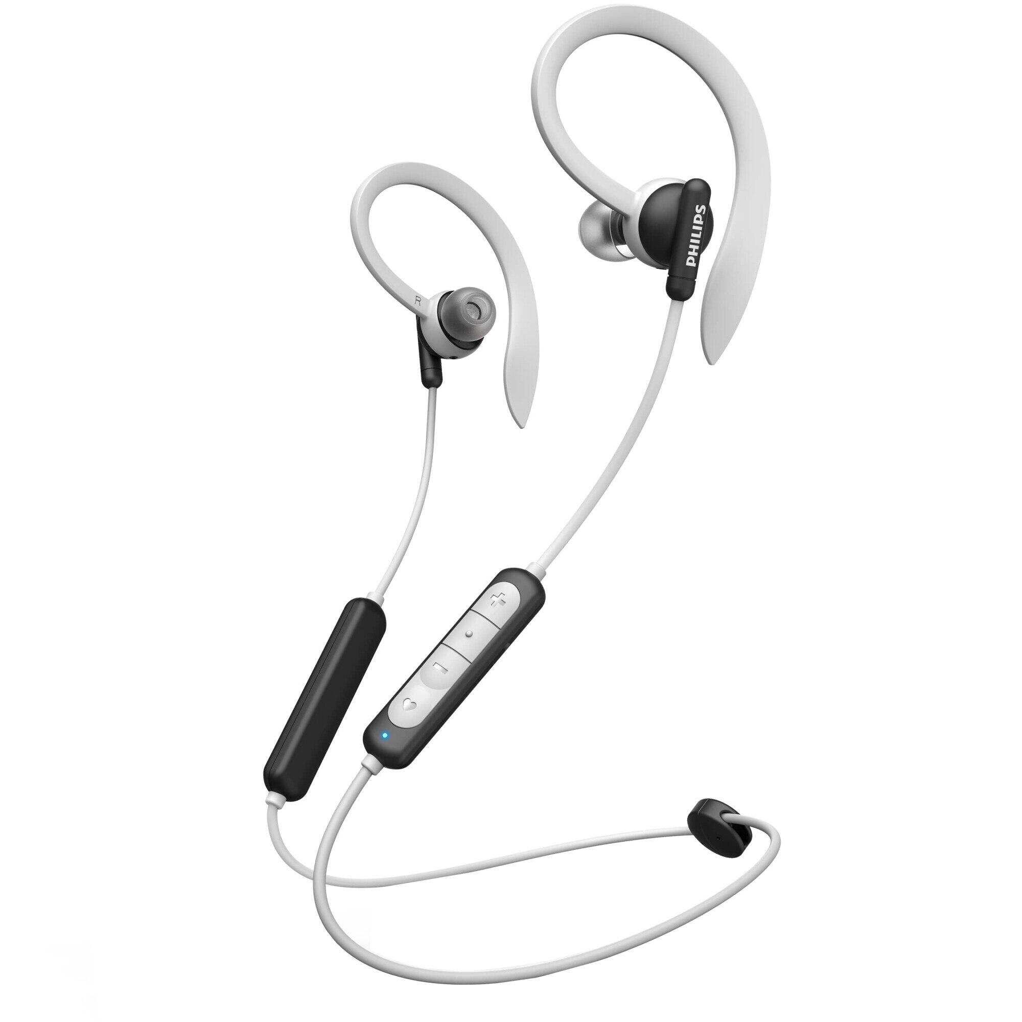 Fotografie Casti Audio In-Ear Sport Philips, TAA4205BK/00, Bluetooth, Autonomie 6h, Negru