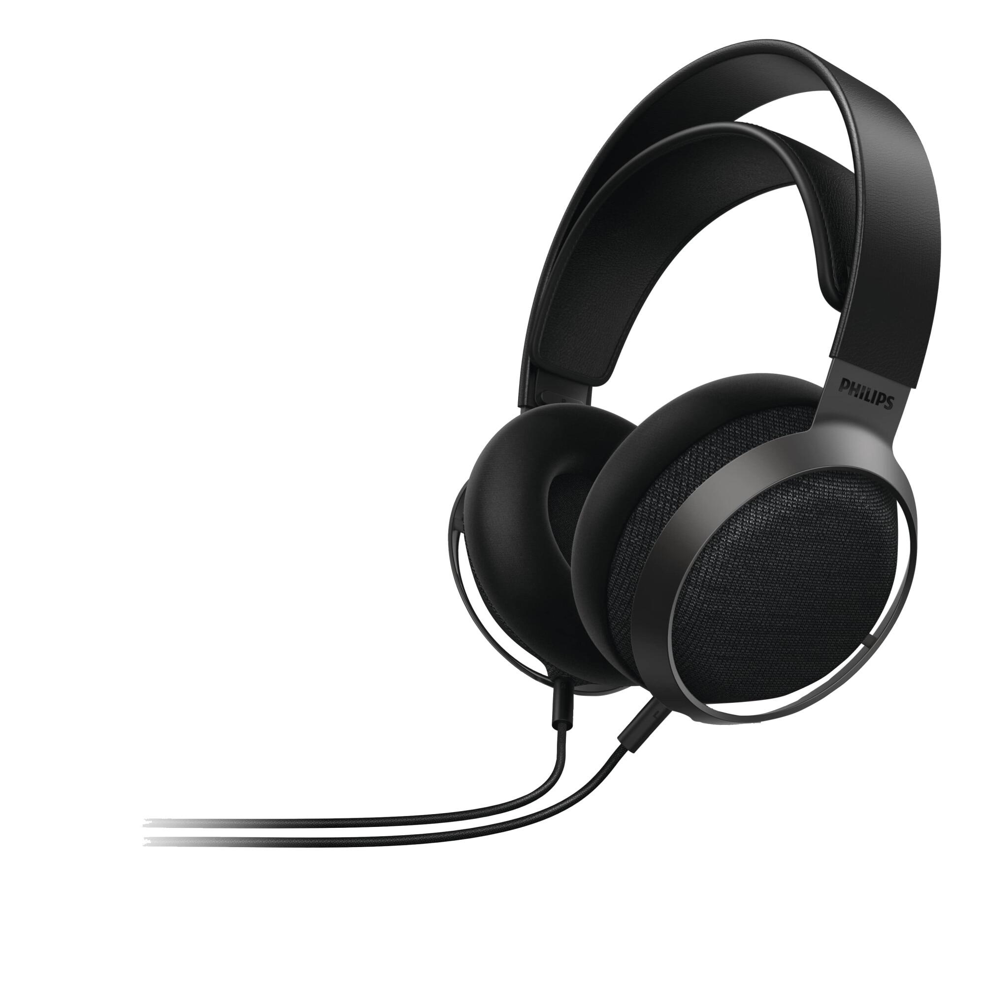 Fotografie Casti Audio Over-Ear Philips Fidelio, X3/00, cu fir, Negru