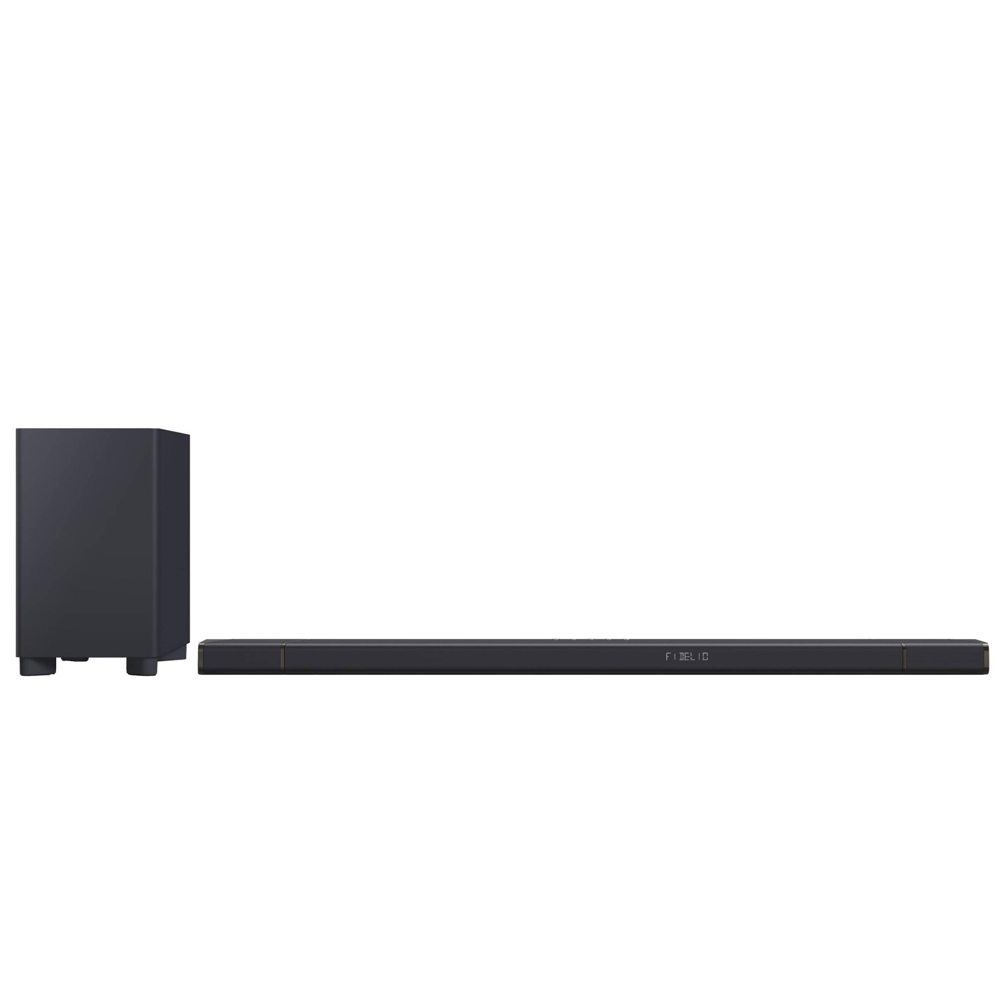 Fotografie Soundbar Philips B97/10, 7.1.2, 450W, Subwoofer Wireless, Dolby Atmos, Negru