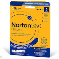 Symantec Norton 360 Deluxe 50GB CZ (1 User/5 Device/1 Year) 21405762 (Digitális Kulcs)