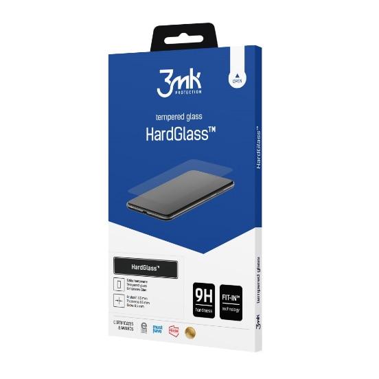 Fotografie Folie de protectie sticla 3MK HardGlass pentru iPhone 12/12 Pro Negru