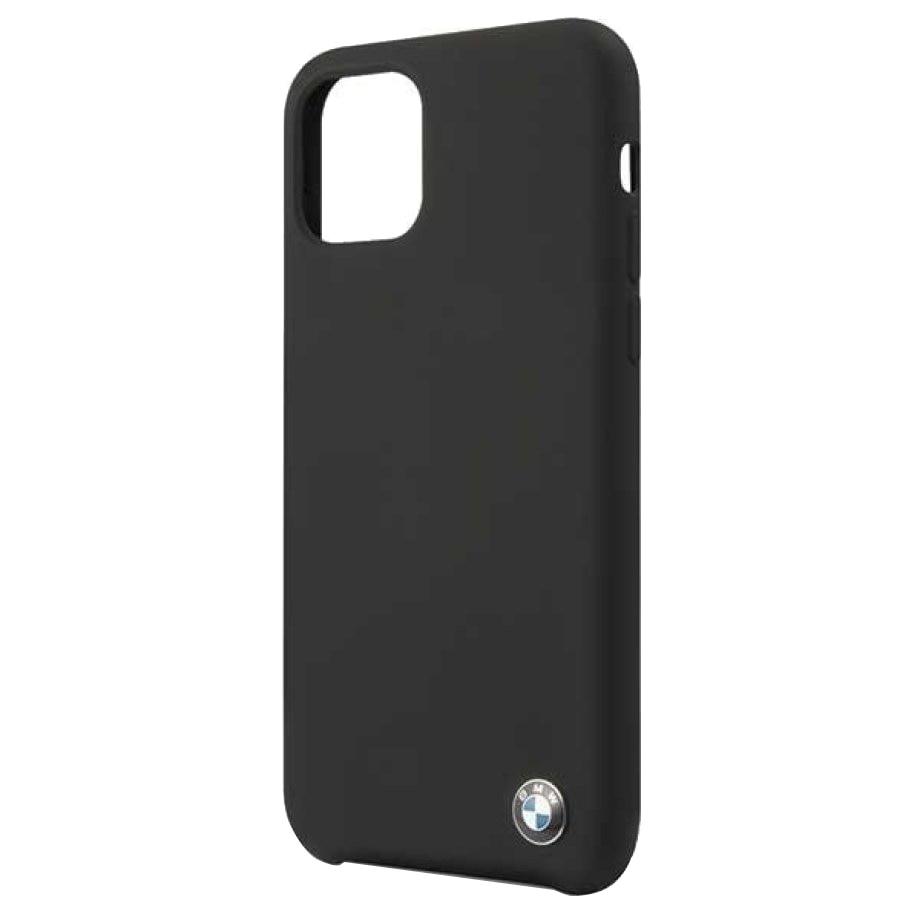 Fotografie Husa de protectie BMW BMHCN61SILBK Silicone pentru iPhone 11 Black
