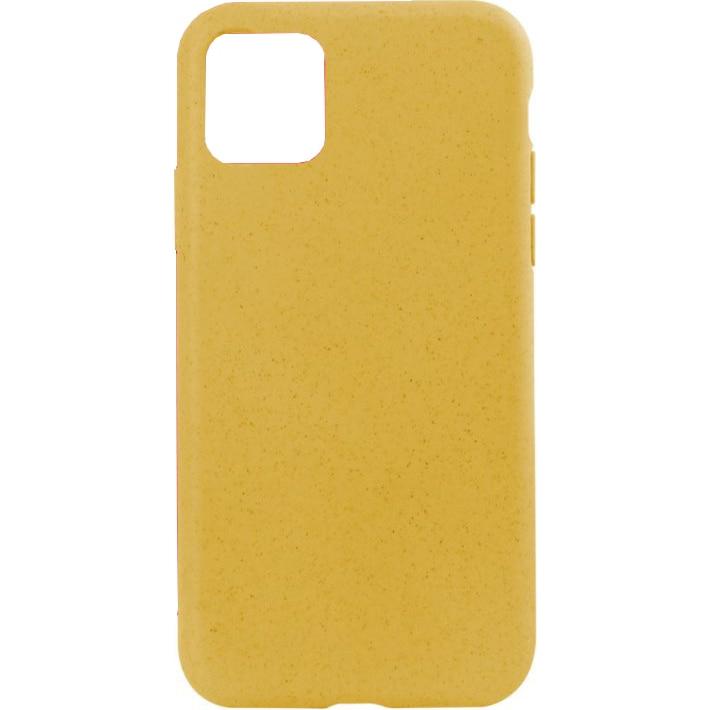 Fotografie Husa de protectie Soft Ksix Eco-Friendly pentru iPhone 11 Pro Galben