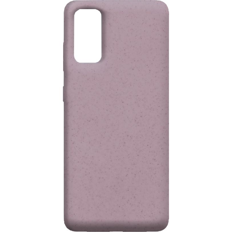 Fotografie Husa de protectie Soft Ksix Eco-Friendly pentru Samsung Galaxy S20 Plus Roz
