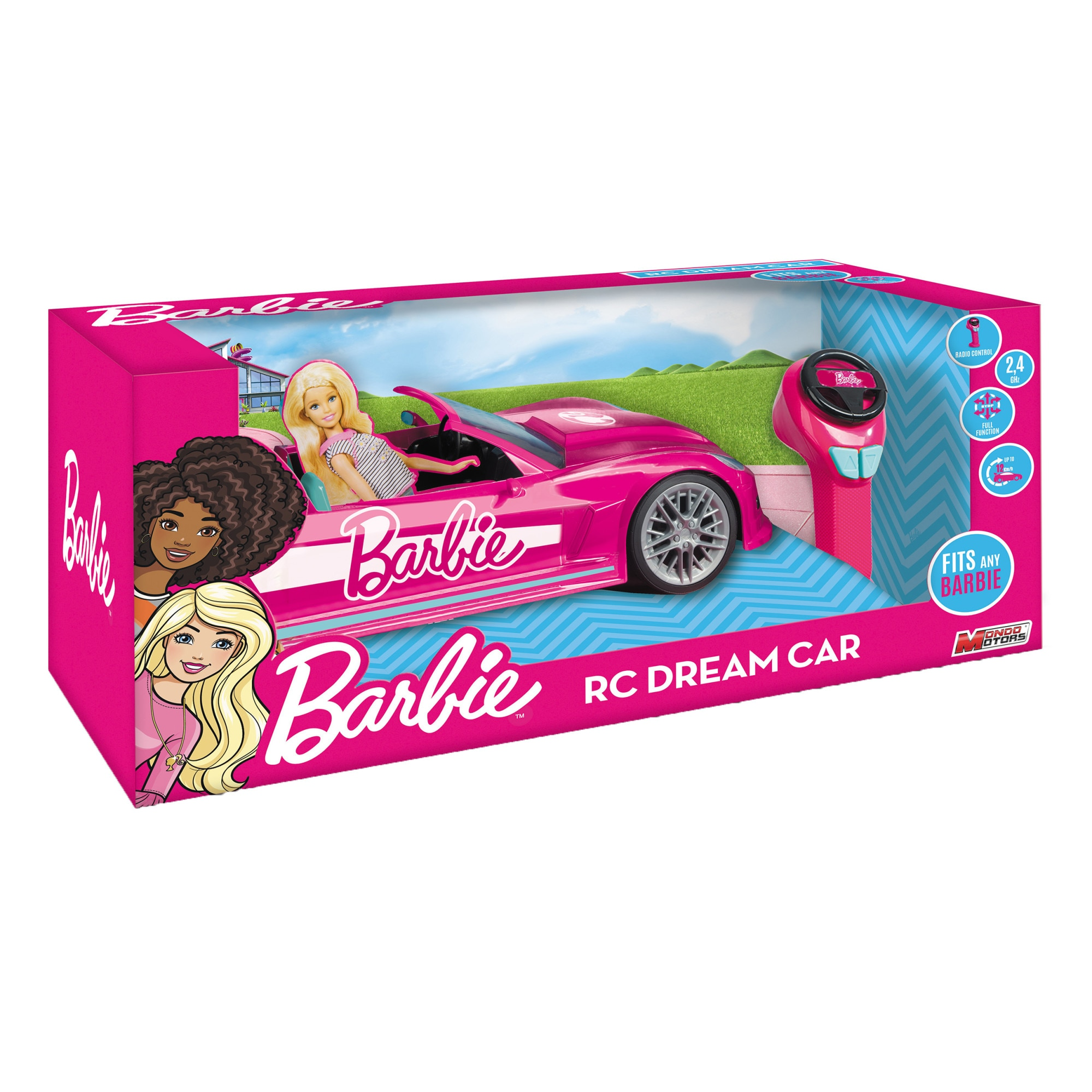 Fotografie Masinuta RC Barbie - Dream car