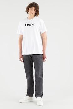 Levi's, Mintás póló hímzett részlettel, Fehér