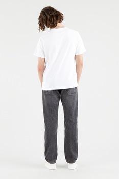 Levi's, Mintás póló hímzett részlettel, Fehér/Levendulakék