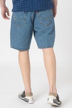 Levi's, Дънкови бермуди 469™, Лавандулово синьо