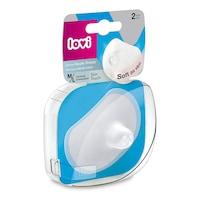 Lovi Szilikonos mellbimbóvédő Skin Touch 2 db. M/L
