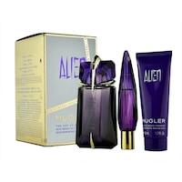 Комплект Thierry Mugler, Alien, Жени: Парфюмна вода Refill, 60 мл + Лосион за тяло, 50 мл + Парфюмна вода, 10 мл