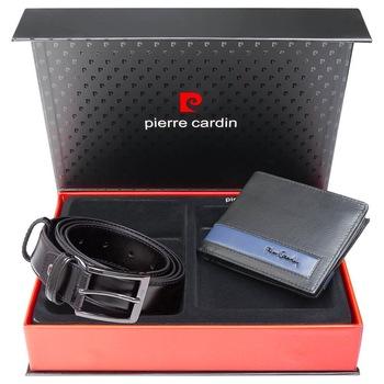 Set cadou barbati Pierre Cardin GBS766 - Exclusive Collection - cu protectie RFID