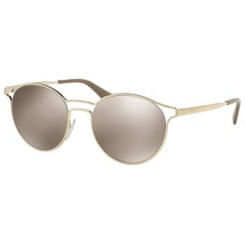 Дамски слънчеви очила PRADA 62SS ZVN1C0, Златист/Светлокафяв огледален, UV 400