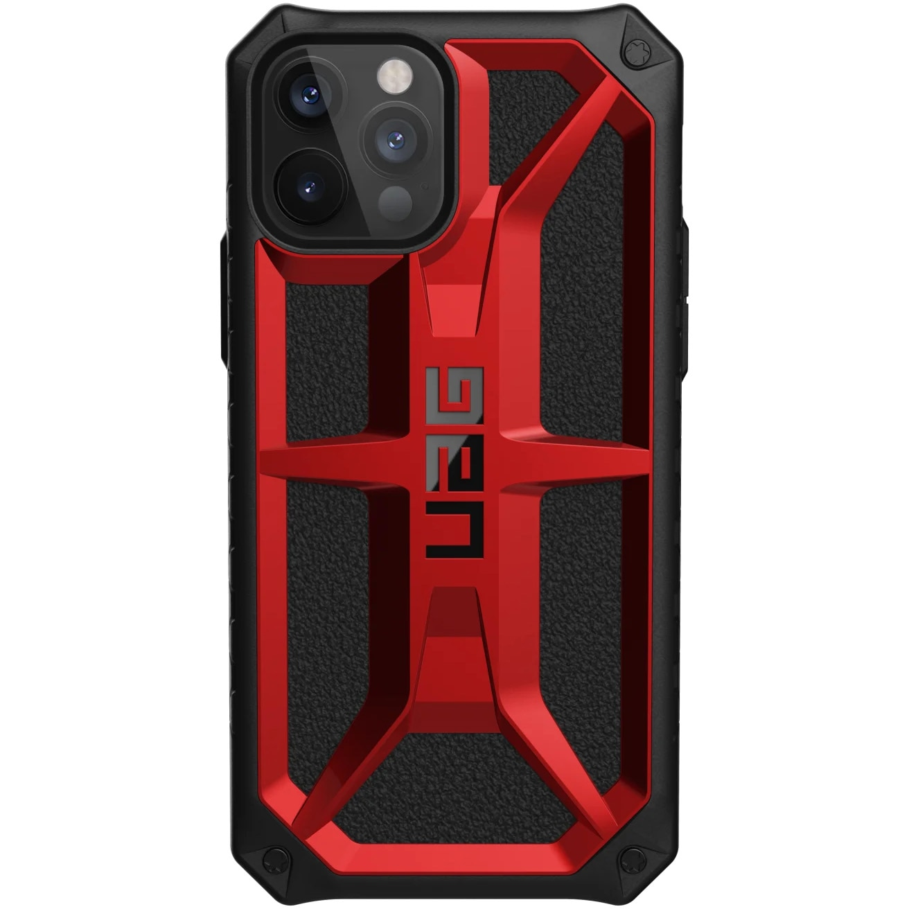 Fotografie Husa de protectie UAG Monarch Series iPhone 12 / 12 Pro, Crimson
