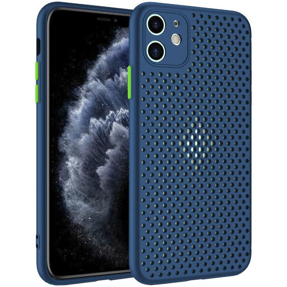 Fotografie Husa de protectie Lemontti Bubble iPhone 12 Mini, Albastru