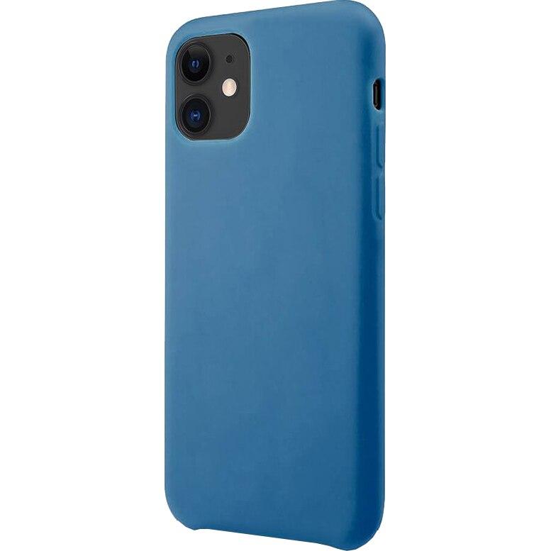 Fotografie Husa de protectie Lemontti Silicone Lite iPhone 11, Albastru