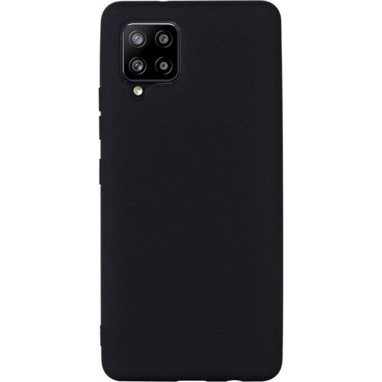 Fotografie Husa de protectie Lemontti Silicon Silky Samsung Galaxy A42 5G, Negru