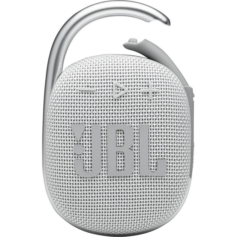 Fotografie Boxa portabila JBL Clip 4, Bluetooth, IP67, 10H, Alb
