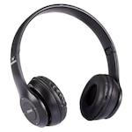 Vezeték nélküli fejhallgató, EDAR®, Bluetooth 5.0, P47 Fekete