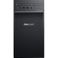 """Сървър Dell PowerEdge T40, Intel Xeon E-2224G 3.5GHz, 8M cache, 4C / 4T, turbo (71W), 3.5 """"Chassis with up to 3 Hard Drives, 8GB 2666MT / s DDR4 ECC UDIMM, 1 x 1TB 7.2K RPM SATA 6Gbps Entry 3.5in Cabled Hard Drive, 8x DVD +/- RW 9.5mm Optical Disk Drive,"""
